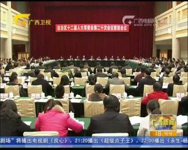 【视频】自治区人大常委会举行联组会议