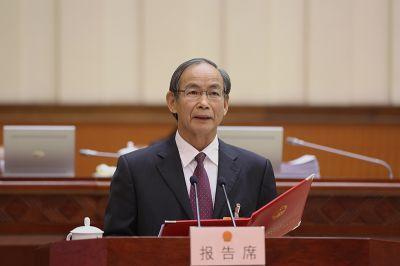 张明沛作关于自治区森林防火条例草案的说明