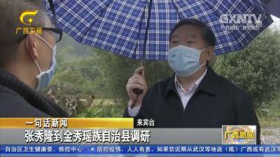 【视频】张秀隆到金秀瑶族自治县调研