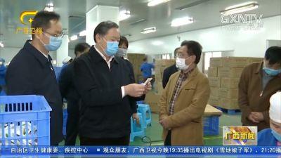 【视频】张秀隆赴隆安县扶贫搬迁安置点调研