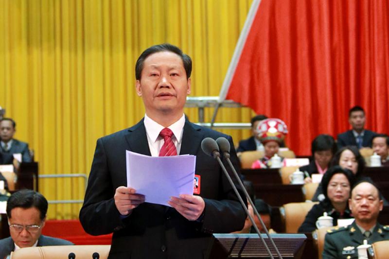 彭清华在自治区十二届人大四次会闭幕会上讲话