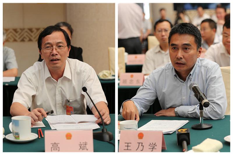 高斌委员询问如何加强电子商务和现代物流领域职业教育培训