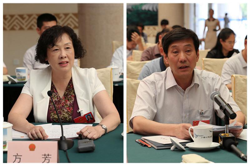方芳委员询问新型职业农民培育工作