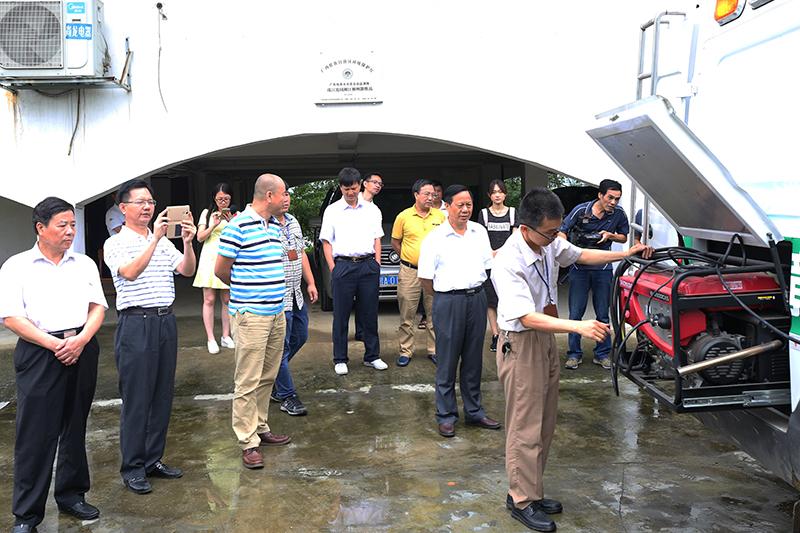 2016年广西环保世纪行赴柳州开展调研和采访活动