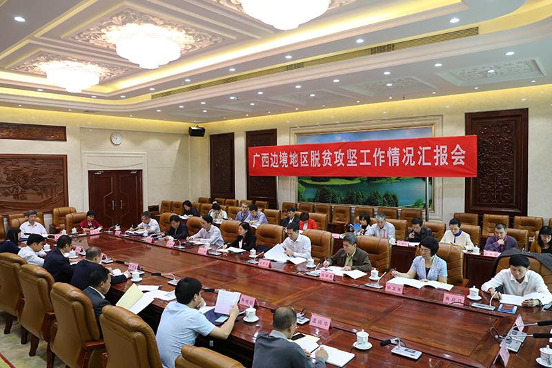 驻桂全国人大代表对我区边境地区脱贫攻坚开展集中视察
