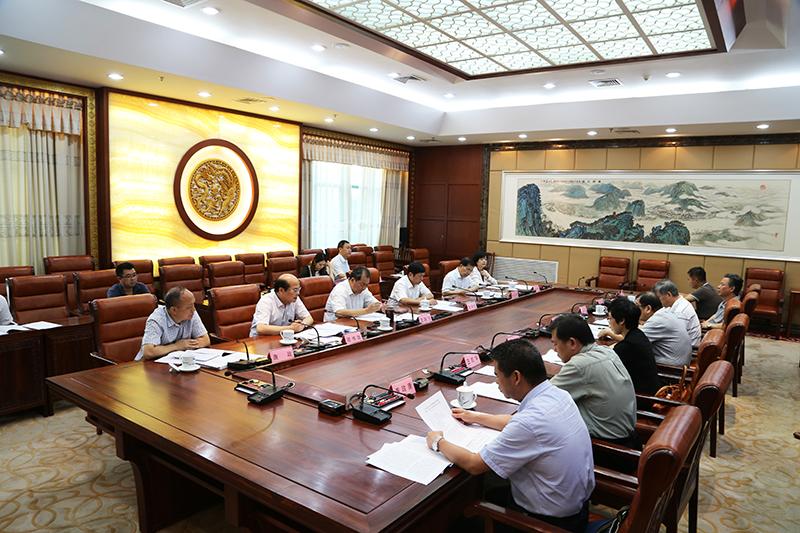 自治区乡村规划建设管理条例草案起草工作小组会议召开