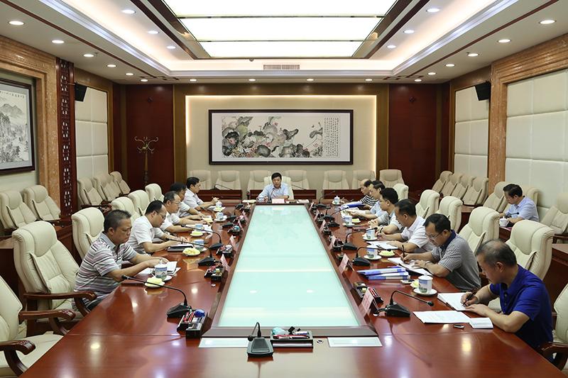 自治区人大常委会机关党组理论学习中心组 召开第二季度专题学习会议
