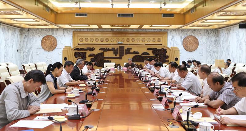 全国人大财政经济委员会到桂开展经济立法工作调研