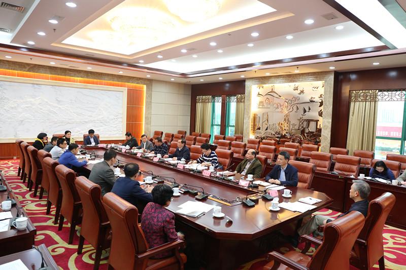 十三届全国人大一次会议广西代表团随团服务工作组召开会议