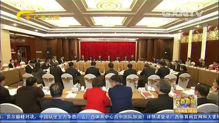 【视频】广西代表团审议宪法修正案草案修改稿审查计划报告和预算报告