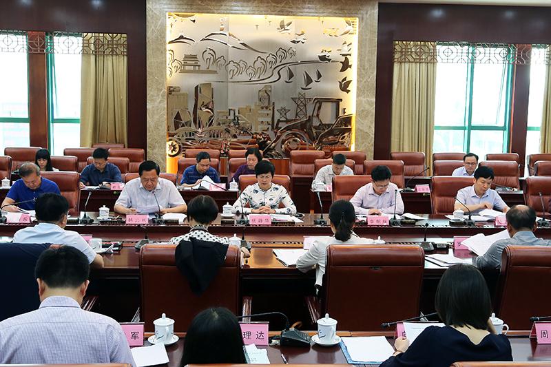 自治区人大常委会召开国有资产管理情况调研座谈会
