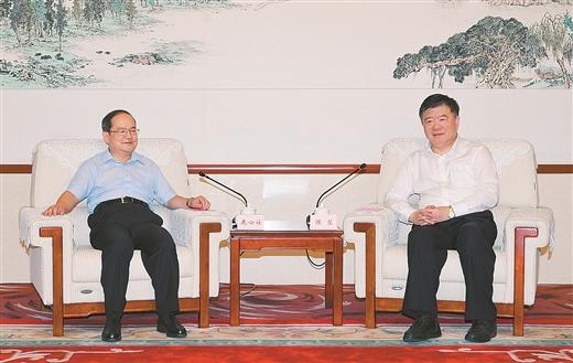 全国人大常委会副委员长陈竺来桂调研
