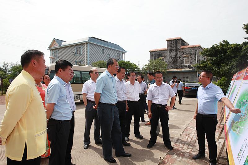王跃飞率队开展第441号代表建议重点督办工作调研