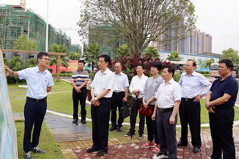 张晓钦赴南宁、玉林市开展全区2018年上半年计划、预算执行情况调研