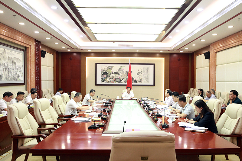 自治区人大常委会机关党组理论学习中心组 召开2018年第二专题集中学习会议