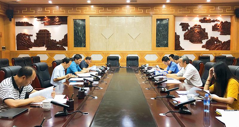 自治区人大农委召开第五次全体会议