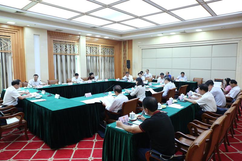 自治区十三届人大常委会第五次会议9月30日上午召开分组会议