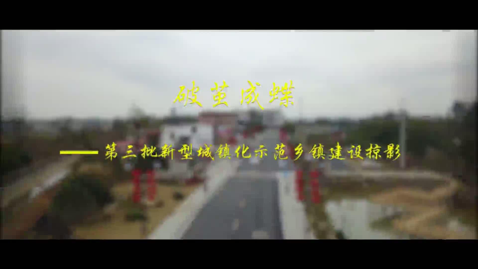 【視頻】破繭成蝶——第三批新型城鎮化示范鄉鎮建設掠影