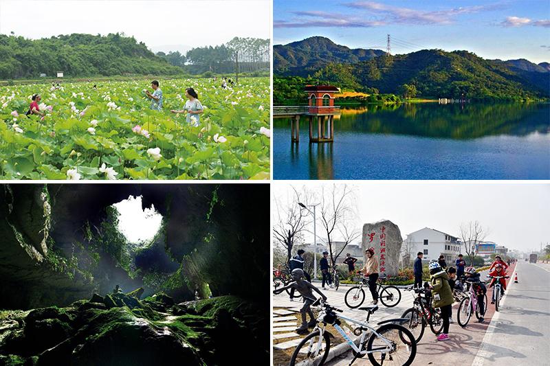 永福縣羅錦鎮全域旅游架構形成新格局