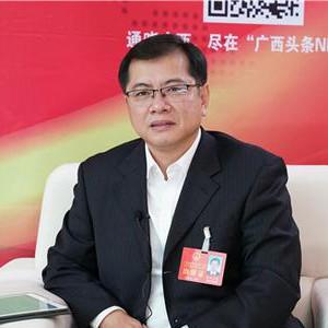自治区人大代表、西林县县长欧阳可爽接受中新社专访