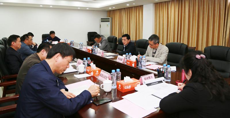 自治区人大社会建设委员会到人社厅调研和对接工作