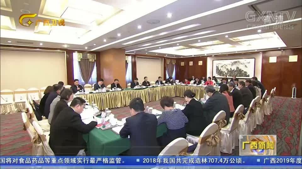 【直通两会】广西代表团审议两高工作报告
