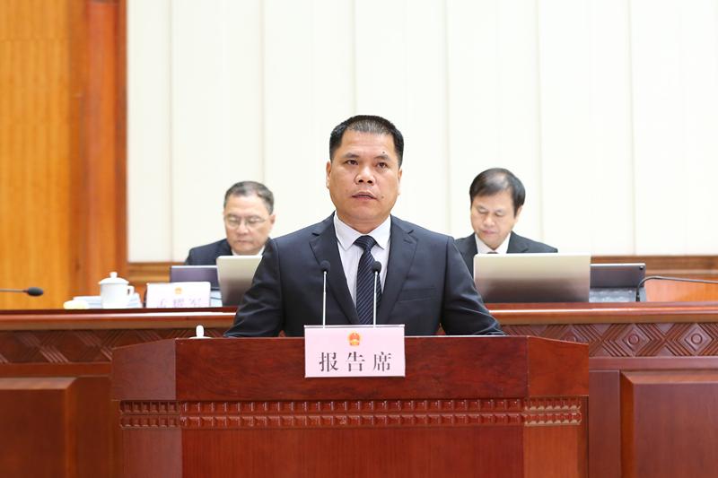 黄耀革作关于《广西壮族自治区铁路安全管理条例(草案)》的说明