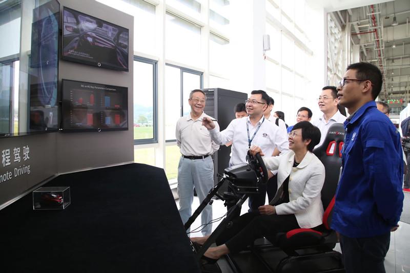 杨静华率队赴柳州市重点督办第518号代表建议