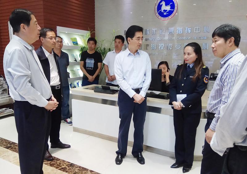 张晓钦率队到柳州、桂林检查广西消费者权益保护条例实施情况