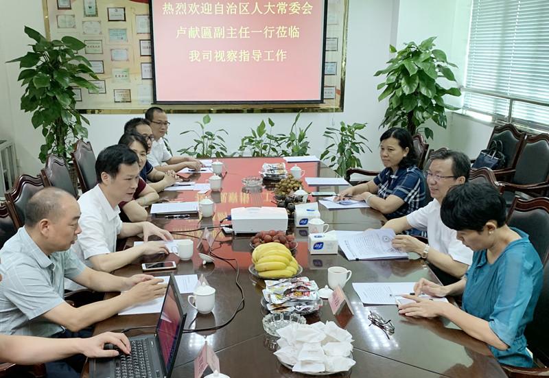 卢献匾赴广西富丰集团开展走访联系服务 非公有制企业、非公有制经济代表人士活动