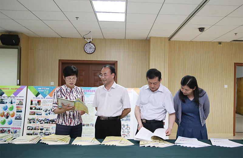 杨静华率执法检查组赴部分在邕高校 开展《中华人民共和国高等教育法》执法检查