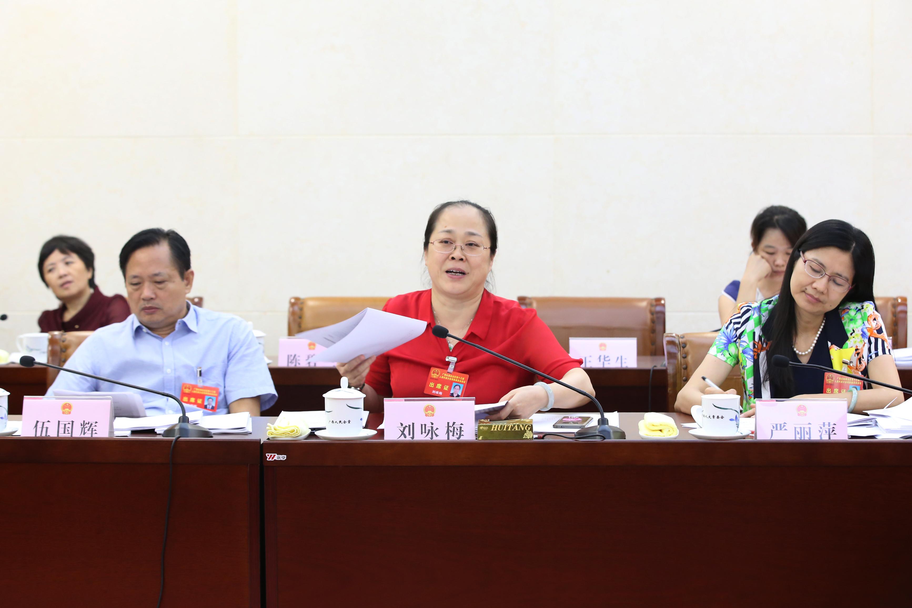 自治区十三届人大常委会第十次会议7月24日下午召开分组会议