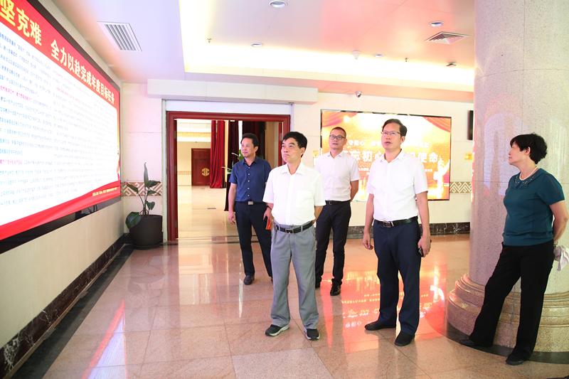 自治区党委第四巡回指导组到自治区人大机关参观学习交流