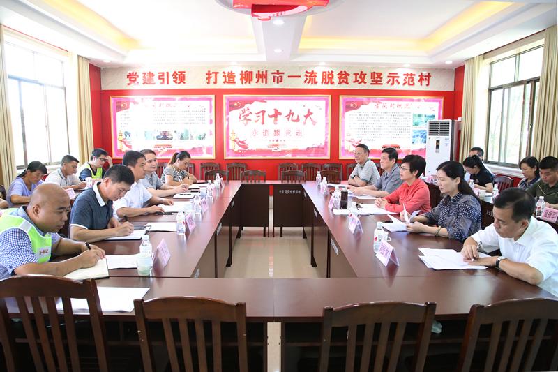 """杨静华率队赴融安县开展主题教育调研和""""一帮一联""""活动"""