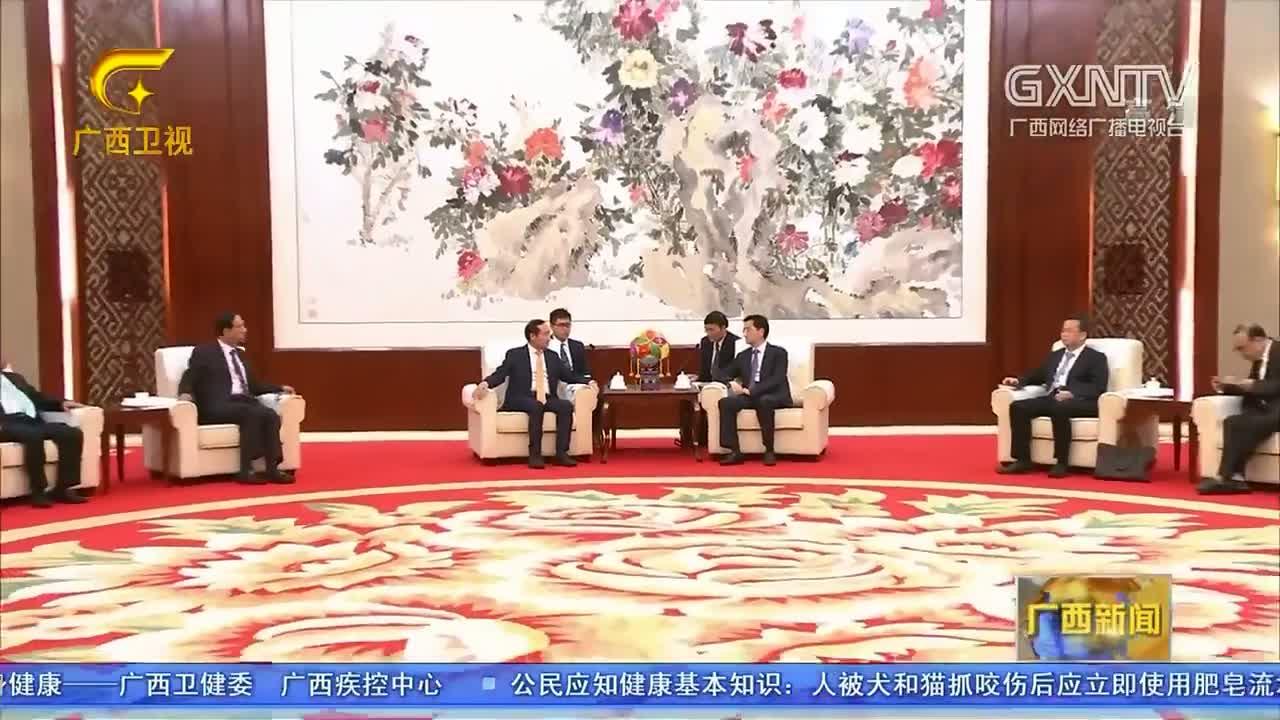【视频】张晓钦会见越南客人