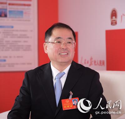 人民网专访广西人大代表、广西司法厅党委书记林金文