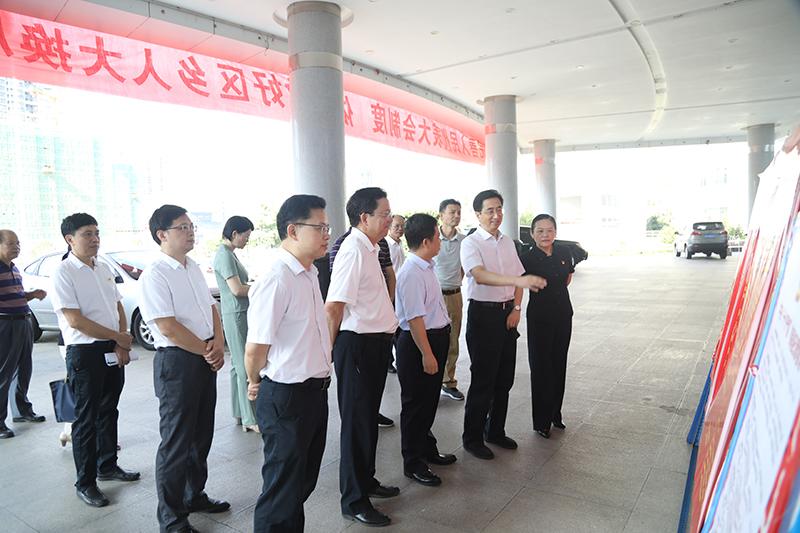 张晓钦率队赴贵港市指导人大换届选举工作